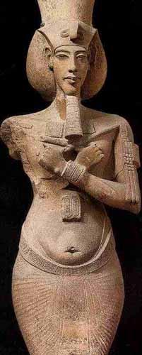 Statue of Akhenaten.