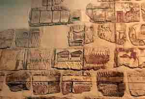 Talatats, the principal building stone of Akhenaten's city.